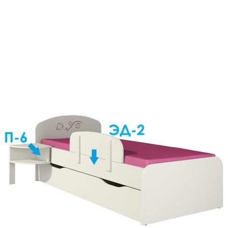 Сакура Кровать КР-3Д0