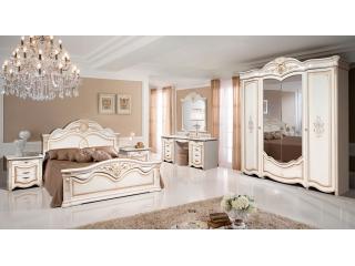Спальня «Джулия 4К (с комодом) / 4С (с туалетным столом)»