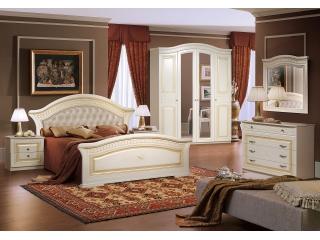 Спальня Любава 4 жемчуг ФорестДекоГрупп